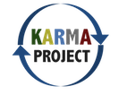 Karma project logo dark