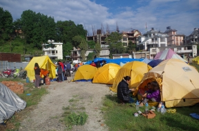 Karma Project Earthquake Relief Camp
